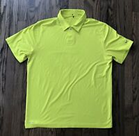 Nike Tiger Woods Collection Mens Short Sleeve Polo Golf Shirt Size Large