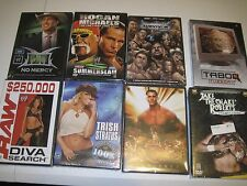 WWE DVD LOT of 16 Wrestling DVDs! PPV's, Documentaries  GREAT DEAL!