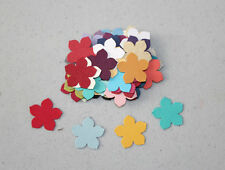 Stampin' Up Assorted Colour PETITE PETAL Flower Die Cut Punches 50