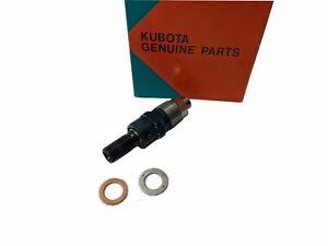 New Genuine Kubota Fuel Injector 1 piece  D1403 D1503-M D1703 D1703-M D1803-M