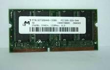 MODULO RAM SODIMM Micron 256MB 144pin PC133 CL3 USATA OTTIMO STATO EL1 38295