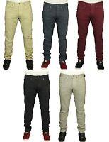 Mens BNWT Jeans Jack & Jones Slim Fit Trousers 5 Colours Designer Pants