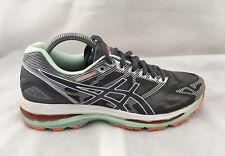 Ascis Gel-Nimbus 19 Running Shoes T753N - Women's Size 9 2A - Gray/ Mint/ Coral