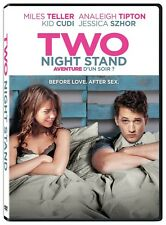 Two Night Stand (DVD) Miles Teller, Analeigh Tipton NEW