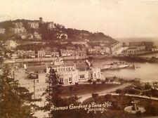 RP - Princess Gardens & Vane Hill, Torquay 1915