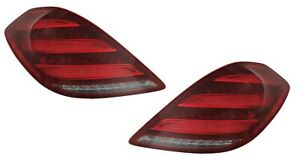FIT MERCEDES BENZ S450 S560 2018-2020 TAILLIGHTS TAIL LIGHTS LAMPS PAIR NEW