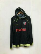 Leicester Tigers Rugby Kooga Men's Training Hoodie - Large - Black - New