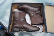 ECCO Damen Stiefel Stiefelette Schuhe Boots Gr.37 braun Leder TOP