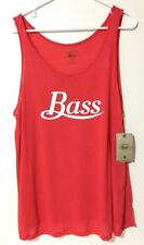 G.H Bass & CO Top Shirt Sleeveless Red Color size XL