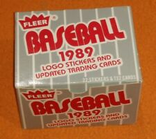 1989 Fleer Update Baseball Cards Complete Set Factory Box