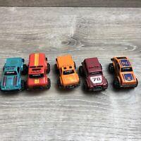 Vintage 1980's Schaper Stomper 4x4 McDonalds HAPPY MEALS 5 LOT TRUCK Toys