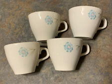 4 Vintage Taylor Smith Taylor Ever Yours Boutonniere Coffee Tea Cup Mug USA Made