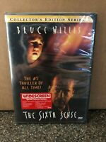 THE SIXTH SENSE (DVD, 2000, Collector's Series) NEW SEALED SHIPS FREE
