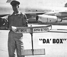 """Model Airplane Plans (FF): DA BOX 40""""ws for 1/2A-A Engine by Fred Salmon"""