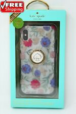 NEW !! Kate Spade New York Gift Set Ring Stand Hardshell Case for iPhone X (10)