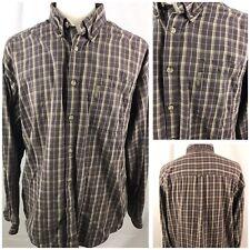 Columbia Mens Shirt Size XL Long Sleeve Button Front Cotton