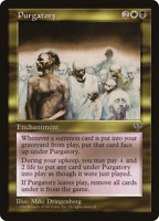 Purgatory X (1) MTG Mirage Excellent/Near Mint - R275 - 4RCards