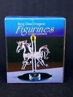 Spun Glass  Ornament  Figurines 24 Karat Gold Plated