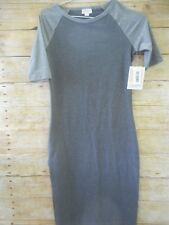 NWT LulaRoe Julia Dress Size XXS Shades of Gray