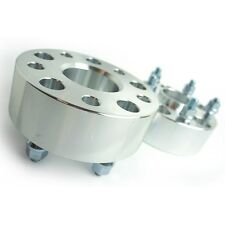 2 Pcs Wheel Spacers Adapters 5X100 To 5X100 | 54.1 CB | 12X1.5 | 38MM 1.5 Inch