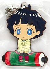 Naruto Shippuden Rubber charm strap keychain Himawari