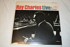 Ray Charles Live In Concert LP 1964 ABC Paramount T-90144