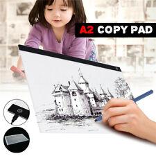 A2 USB LED Art Artist Tattoo Stencil Board Light Tracing Drawing Pad Table