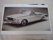 1962 DODGE POLARA 500 CONVERTIBLE  11 X 17  PHOTO  PICTURE