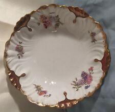 """Vintage Charles Ahrenfeldt  9 1/2"""" Porcelain SERVING BOWL"""