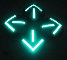 "4 - 12"" Green Arrow LED inserts Traffic Signal Light"