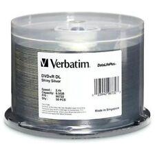Verbatim 96732 Dvd+r Dl 8.5g 2.4x Datalife 50