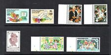 3 NICE SETS OF UNITED NATIONS, (ANIMATION) MNH**