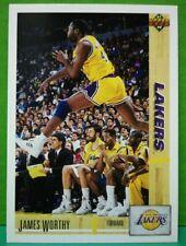 James Worthy card 91-92 Upper Deck #146