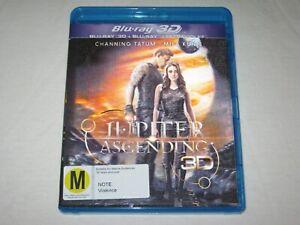 Jupiter Ascending 3D - Mila Kunis - 2 Disc - VGC - Region B - Blu Ray