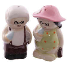 Old Fogey Beach Couple Salt & Pepper Set - Ceramic - NEW - Mothers Day