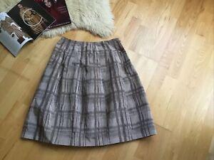Nicole Farhi skirt with silk UK 12