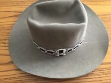 Vintage Western Cowboy Hat New West By Bailey Size 7 Gray