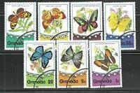 GRENADA 660-66 CTO BUTTERFLIES