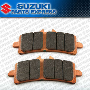 NEW 2016 - 2021 SUZUKI GSXS GSX-S 1000 F OEM FRONT BRAKE PADS SET 59100-14850