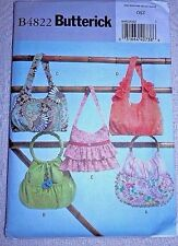 Butterick Pattern B4822 Handbags  *NEW Uncut