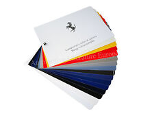 2010 FERRARI PAINT CHIP PPG RANGE COLOUR SAMPLES