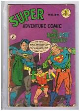 Colour Comics Pty Ltd. Super Adventure Comics #39 VG/F 1969 Australian