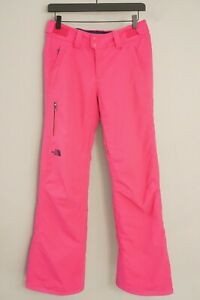 Woman The North Face Trousers Skiing Snowboarding Waterproof 4 S W30 L30 XIK734