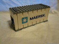 Lego Train City Creator Maersk White Container 10219/10233/10194