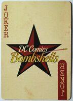 DC Bombshells Single Swap Playing Card - 1 card - Joker