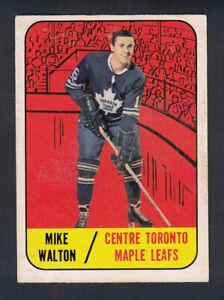 1967-68 TOPPS HOCKEY CARD #15 M. WALTON