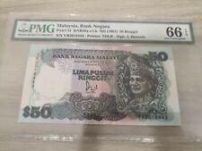 MALAYSIA 6TH RM50 PMG66epq