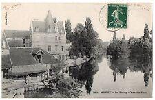 CPA 77 - MORET sur LOING (Seine et Marne) - 595. Le Loing - Vue du Pont