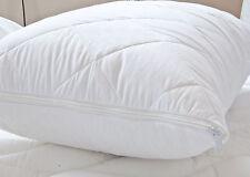 Pillow Protector PAIR100% Egyptian Cotton Zipped Closing-Anti Allergy