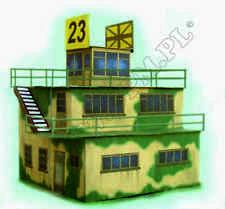 Torre de control militar 1:48 escala kit modelo de torre de control (Lasercut piezas) NUEVO